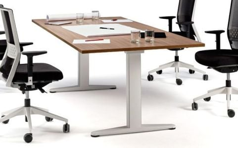 Ergo X Height Electronic Adjustable Boardroom Table