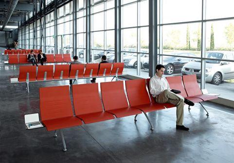 Avanti Beam Seating Installation Shot 2