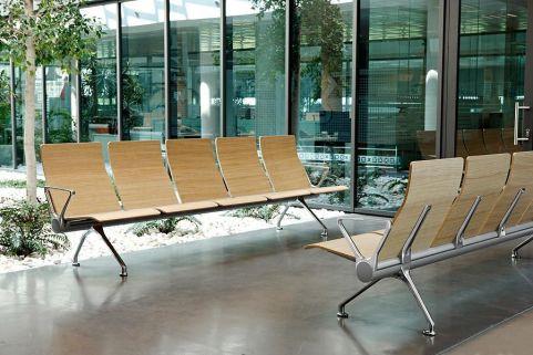 Avanti Wooden Beam Seating Install Shot