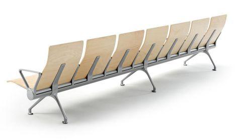 Avanti Wooden Beam Seating Rear View