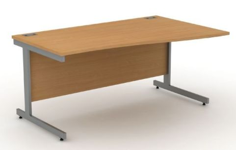 Avalon Right Hand Wave Desk