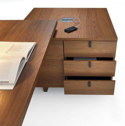 Lithos Executive Cupboard Drawer Detail