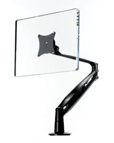 Cygnoid Gas Lift Height Adjustable Monitor Arm In Black