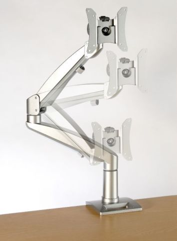Solstice Gas Lift Height Adjustable Monitor Arm
