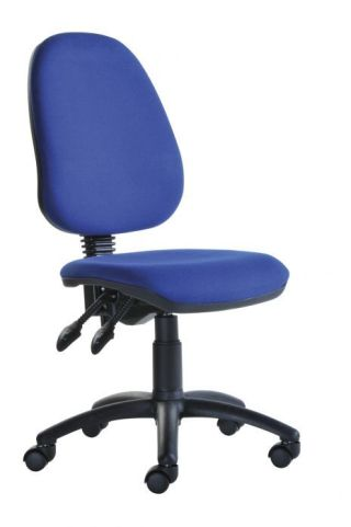 Pricebuster Operators Chair In Blue Fabric