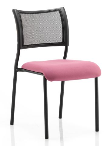 Brunswick Chair Black Frame No Arms