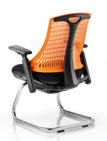 Reactive Ergo Visitors Chair Rear View