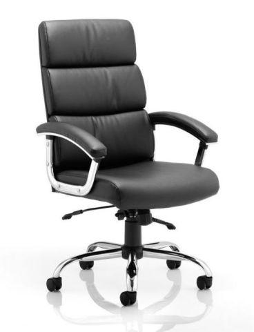 Charlton High Back Black Leather Executive Chair