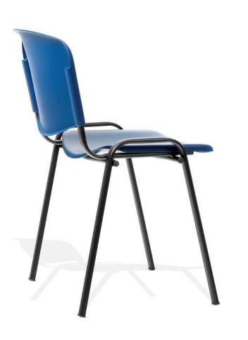 Trident Poly Chair Side View