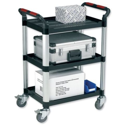 Aluminium And Plastic Trollies 1