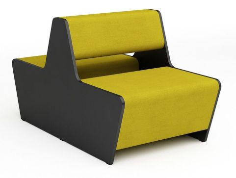 Magnitude Two Seater Double Bench Sofa