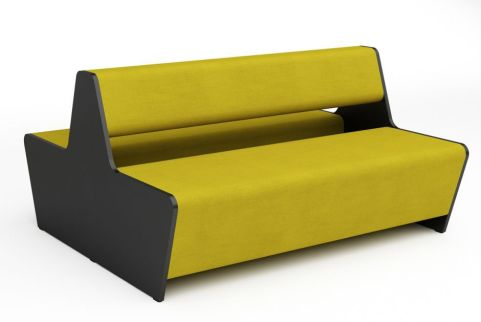 Magnitude Four Seater Two Sided Bench Sofa