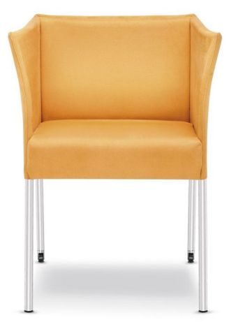 Cubix Designer Chair Orange Fabric