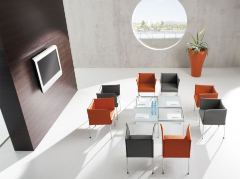 Cubix Chairs Install Shot
