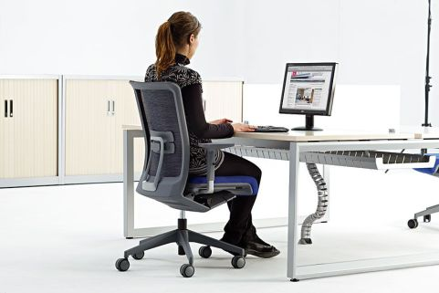 Vital Plus Bench Desk With A Loop Frame