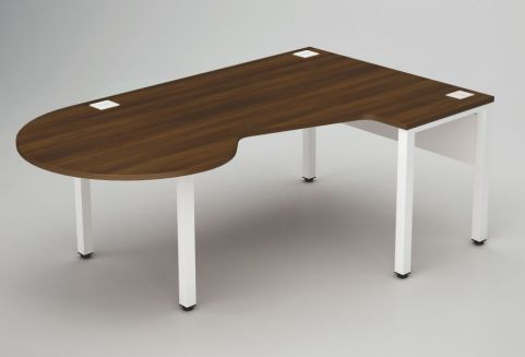 Avalon Corner Bench Desk With A Meeting End