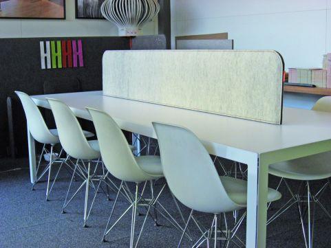 Buzzi Desk Desk Top Screens 600mm High
