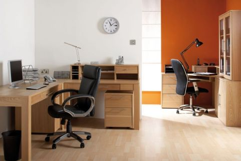Oakwiood Real Wood Veneer Furniture Install Shot
