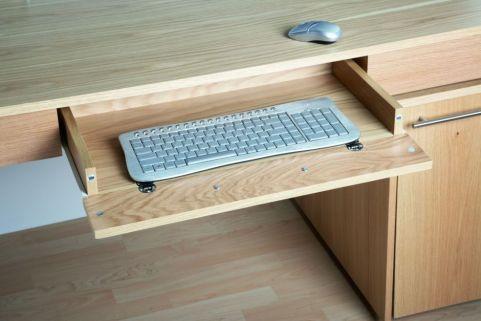 Oakwood Desk Pull Out Drawer