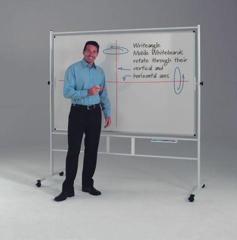 Write Angle Revolving Whiteboard 2