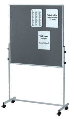Mobile Combination Noticeboard And Whiteboard 2