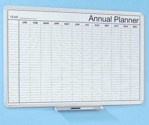 Whiteboard Annual Planner