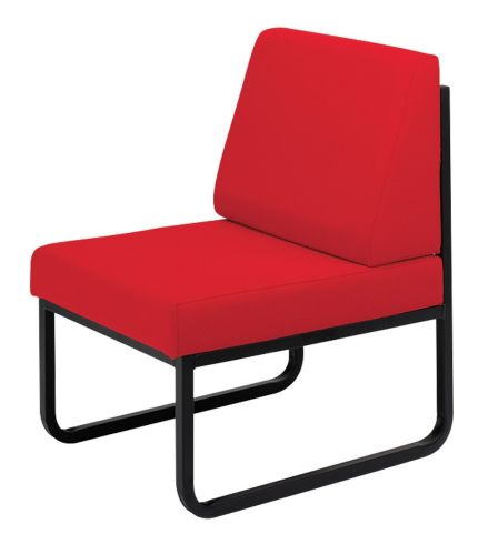 Salford Low Chair With A Skid Frame