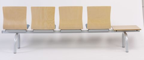 Expo Three Seater Beam And Table Rear View