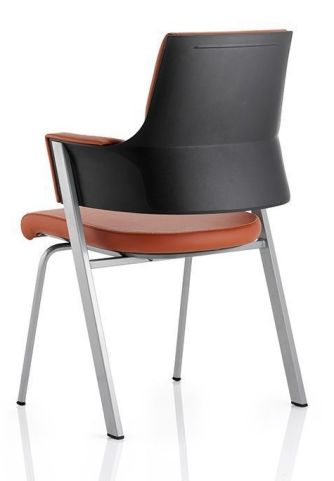 Holster Executive Leather Conference Chair Bacck Angle