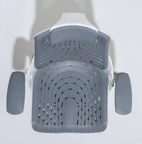 Taurus Grey Elastomer Chair