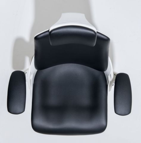 Taurus Leather Task Chair From Above