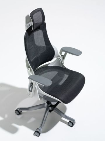 Taurus Black Mesh Task Chair From Above