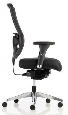 Regency Mesh Task Chair Side View