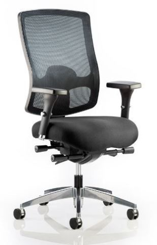 Regency Mesh Task Chair Front Angle