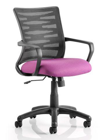 Whirlwind Mesh Chhair Pink Seat