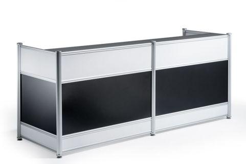 Imeet Black Gloss Reception Desk