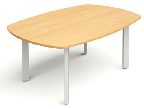 Draycott Meeting Table With Metal Legs