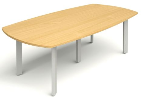 Draycott Large Barrel Shaped Meeting Table