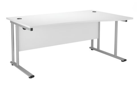 Spright White Wave Desk