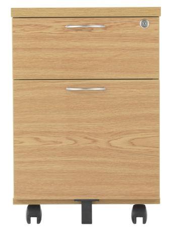 Rapido Two Drawer Mobile Pedestal