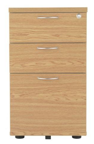 Rapido Desk Height Wooden Pedestal