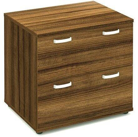 Solar Walnut Wooden Side Filer