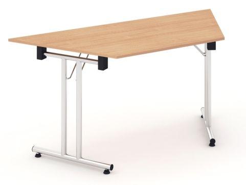 Solar Folding Trapexzoidal Folding Table