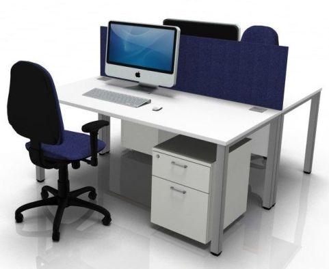Draycott Two Bench Desk Bundle Deal
