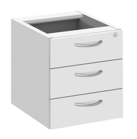 Draycott Fixed Drawers In White
