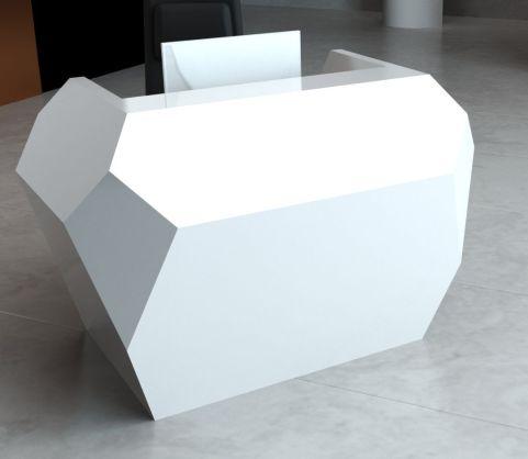 Invite Corian Recpetion Desk In White