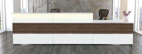 Capri White And Walnut Combination 4