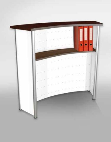 Deco Reception Desk 2 Rear Shot
