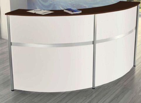 Deco Curved Reception Desk 3 B
