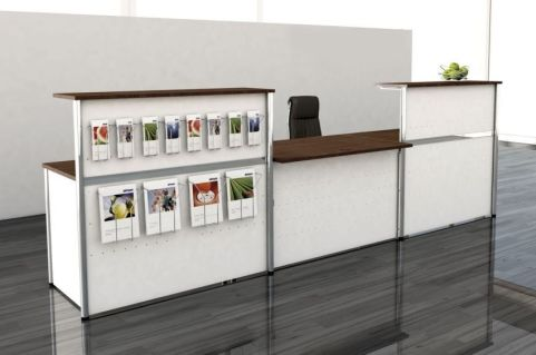 Deco Reception Desk V5